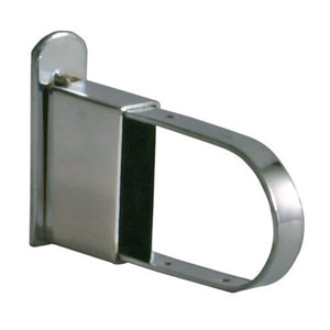 Chrome End Cap For Rectangular Hangrod