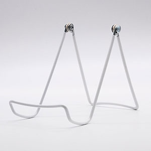 White Wire Countertop Adjustable Easel - 12 Pack