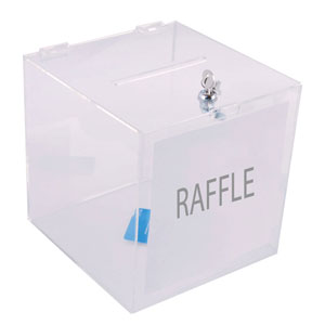Ballet Box For Raffles & Feedback Cards
