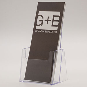Molded Countertop Literature Holder