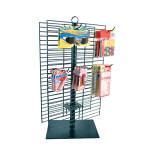 Black Countertop Spinner Merchandising Rack