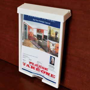 Real-Estate For Sale Literature Box (With Text)