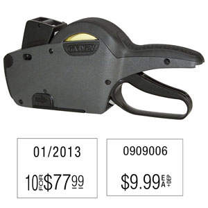 Garvey Double Line Price Label Gun