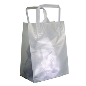 Small Frosted High Density Plastic Bags