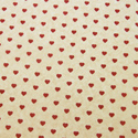 Country Hearts Printed Wrapping Tissue