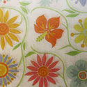Tapestry Flowers Printed Wrapping Tissue