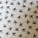 Skull & Bones Printed Wrapping Tissue