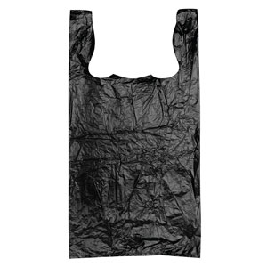 Black Recycled T-Shirt Bags
