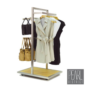 Pearl District 2-Way Apparel Rack