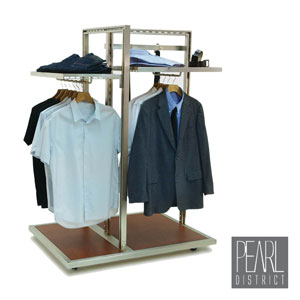 Pearl District 3-Way Apparel Rack