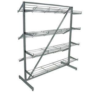 Wire Shoe Shelf Merchandiser