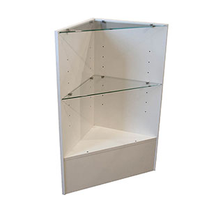 Ready-to-Assemble Corner Display