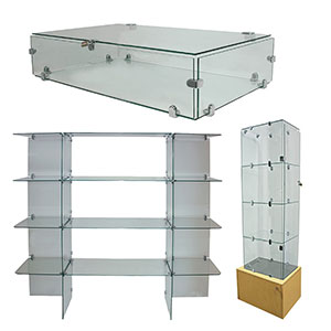 Glass Shelves & Displays
