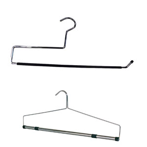 Retail Hangers for Bedding