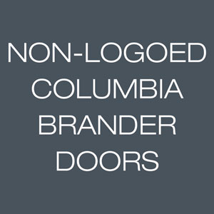 Columbia Non-Logoed Hangers For Branded Doors
